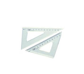 Plastic triangle set (15 cm)