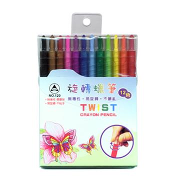 Twist crayon pencil